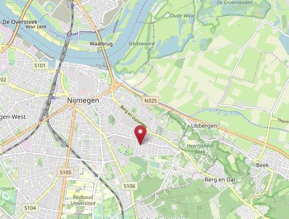 Klik voor route via Open Street Map